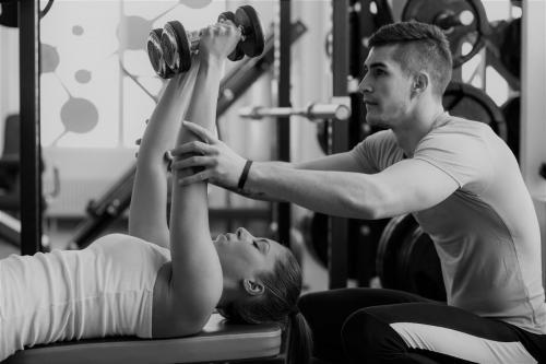Persoonlijke begeleiding tijdens het trainen